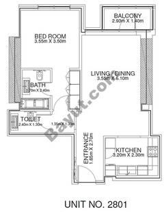 1 Br - Unit 2801 - 28th Floor