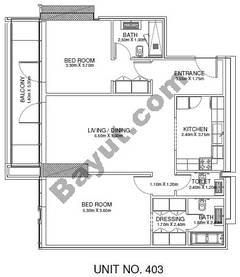 2 Br - Unit 403 - 4th Floor