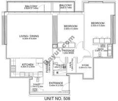 2 Br - Unit 508 - 5th Floor