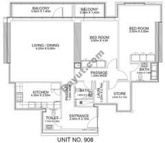 2 Br - Unit 908 - 9th Floor