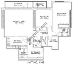 2 Br - Unit 1108 - 11th Floor