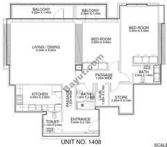 2 Br - Unit 1408 - 14th Floor