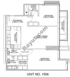 2 Br - Unit 1506 - 15th Floor