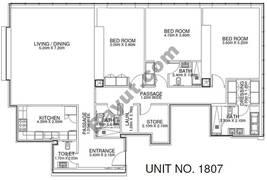 2 Br - Unit 1807 - 18th Floor