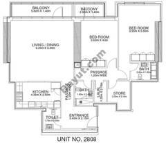 2 Br - Unit 2808 - 28th Floor