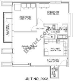 2 Br - Unit 2902 - 29th Floor