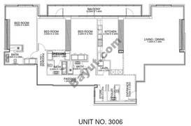 3 Br - Unit 3006 - 30th Floor