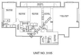3 Br - Unit 3105 - 31th Floor