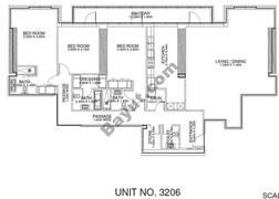 3 Br - Unit 3206 - 32nd Floor