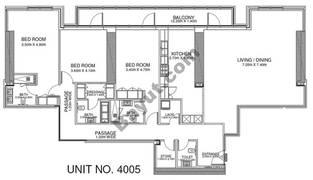 3 Br - Unit 4005 - 40th Floor