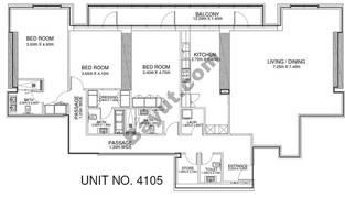 3 Br - Unit 4105 - 41st Floor