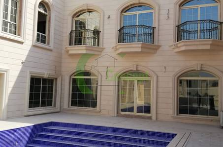 6 Bedroom Villa for Sale in Khalifa City A, Abu Dhabi - Largest 6BR Villa+Outside Majlis in KCA!