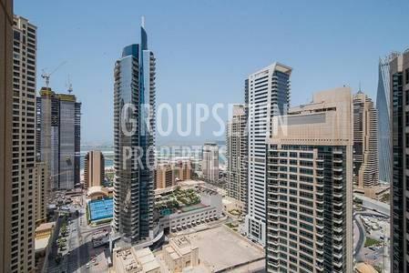 1 Bedroom Apartment for Rent in Dubai Marina, Dubai - Dubai Marina Park Island Fairfield Type 05 Full Sea and Marina View