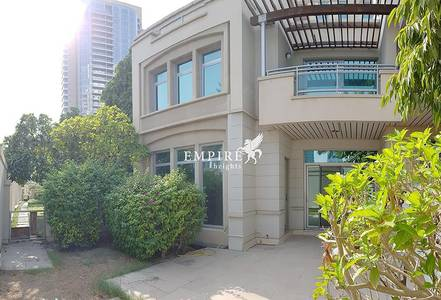 3 Bedroom Villa for Rent in Dubai Marina, Dubai - Corner Garden Villa | 3BR+M | Free Chiller