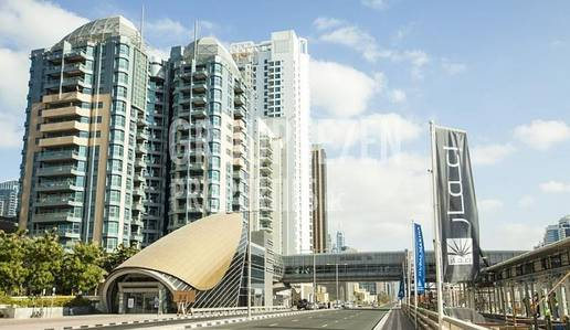 1 Bedroom Flat for Rent in Dubai Marina, Dubai - Fully Furnished 1 BR Apt in Marina Residence Tower for Rent