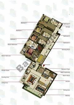 4 Bedrooms (Type 2)