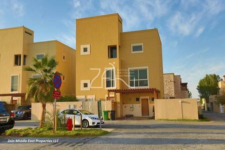 4 Bedroom Townhouse for Sale in Al Raha Gardens, Abu Dhabi - Hot Deal Elegant 4 BR Type A Large Garden