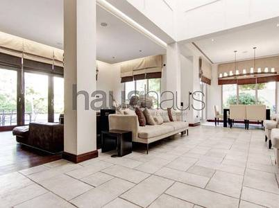 7 Bedroom Villa for Rent in Al Barari, Dubai - Luxe Furniture   Lake backing   7 beds  