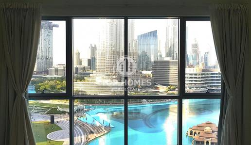 3 Bedroom Flat for Rent in Downtown Dubai, Dubai - Wake up EVERY DAY to this mesmerizing view!