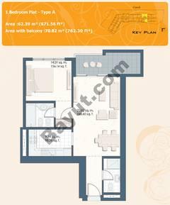 1 Bedroom Flat Type A
