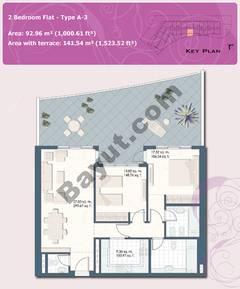 2 Bedroom Flat Type A-3