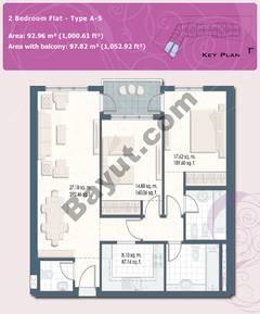 2 Bedroom Flat Type A-5