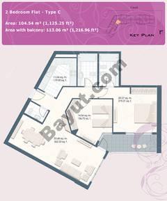 2 Bedroom Flat Type C