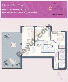 2 Bedroom Flat Type J