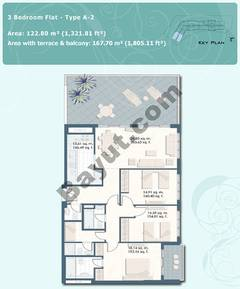3 Bedroom Flat Type A-2
