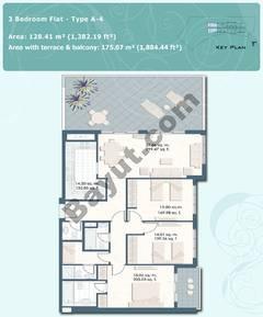 3 Bedroom Flat Type A-4