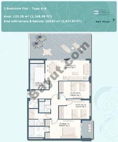 3 Bedroom Flat Type A-6