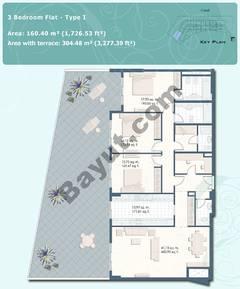 3 Bedroom Flat Type I
