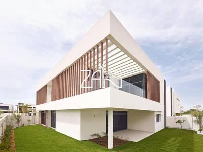 4 Bedroom Villa for Rent in Yas Island, Abu Dhabi - Huge 4BR T1 Villa Single Row Garden View