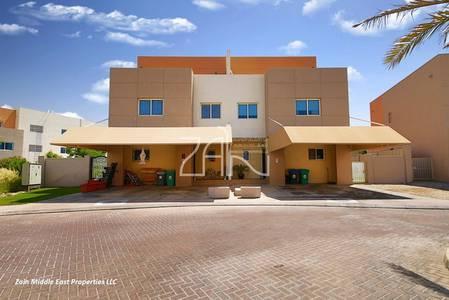 4 Bedroom Villa for Sale in Al Reef, Abu Dhabi - Corner! Vacant 4+M Villa Great Location