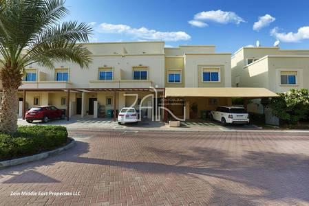 3 Bedroom Villa for Sale in Al Reef, Abu Dhabi - Single Row Modified 3+M Villa Big Garden