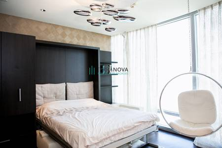 1 Bedroom Flat for Rent in Downtown Dubai, Dubai - One Bedroom Fully Furnished w/ Community View