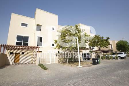4 Bedroom Villa for Rent in Al Raha Gardens, Abu Dhabi - Big Layout 5BR Villa with Private Garden