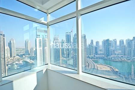 1 Bedroom Flat for Rent in Dubai Marina, Dubai - Full Marina View| Unfurnished| Available