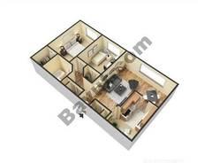 2 Bedrooms (Type 1)