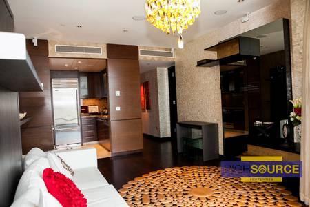 1 Bedroom Flat for Rent in Downtown Dubai, Dubai - High floor