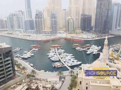 2 Bedroom Apartment for Sale in Dubai Marina, Dubai - Full Marina view 2 Bed for Sale in Manchester Tower.