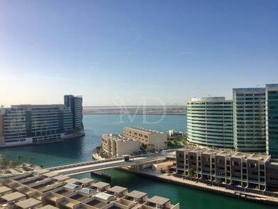 2 Bedroom Apartment for Rent in Al Raha Beach, Abu Dhabi - Great Sea View!! Well