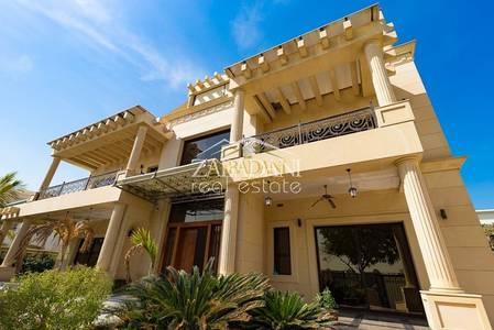 6 Bedroom Villa for Rent in Emirates Hills, Dubai - Emirates Hills Lake View 6 Bedroom Villa For Rent