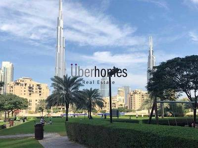 1 Bedroom Apartment for Rent in Downtown Dubai, Dubai - Semi furnished 1 bedroom with Canal view