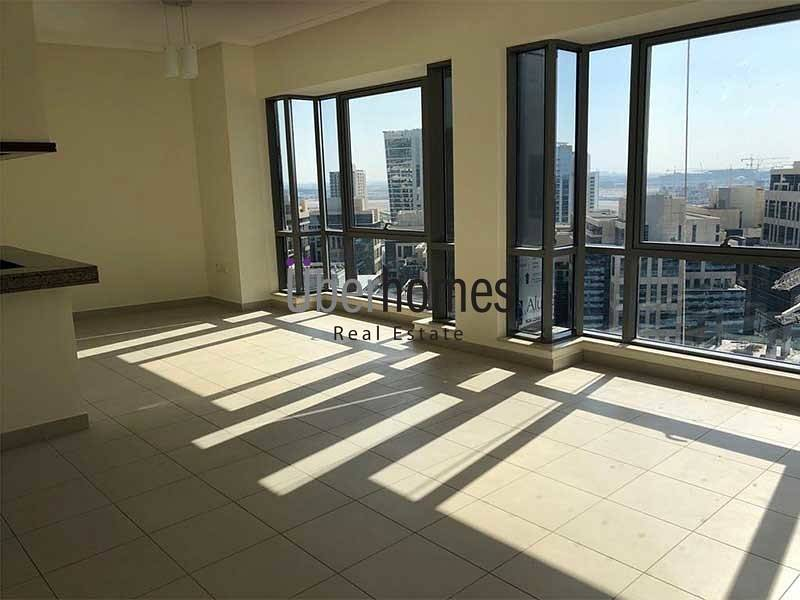 2 Semi furnished 1 bedroom with Canal view