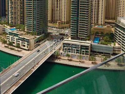 Studio for Rent in Dubai Marina, Dubai - Furnished|Marina view|In heart of marina
