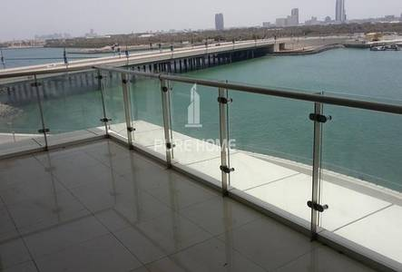 3 Bedroom Flat for Rent in Al Reem Island, Abu Dhabi - Full Sea View For A large 3 BR Apartment In Marina Square