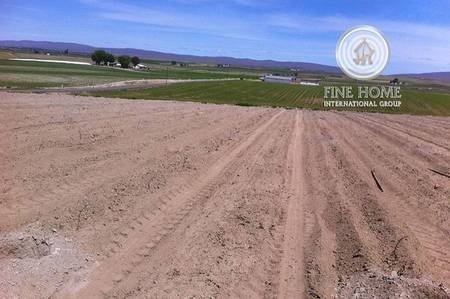 Plot for Sale in Khalifa City A, Abu Dhabi - Corner Residential Land in Khalifa City.