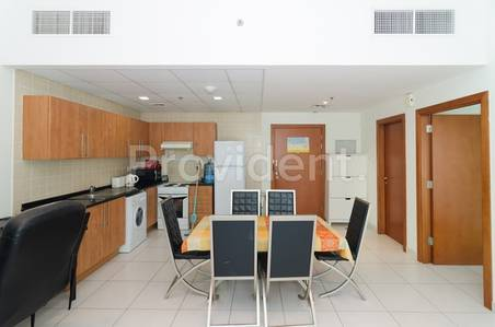 1 Bedroom Apartment for Rent in Dubai Marina, Dubai - Furnished I Vacant with Full Marina View