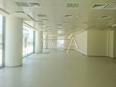Showroom for Rent in Eastern Road, Abu Dhabi - Fully Fitted Big Space Showroom! Strategically Located in Khalifa Park